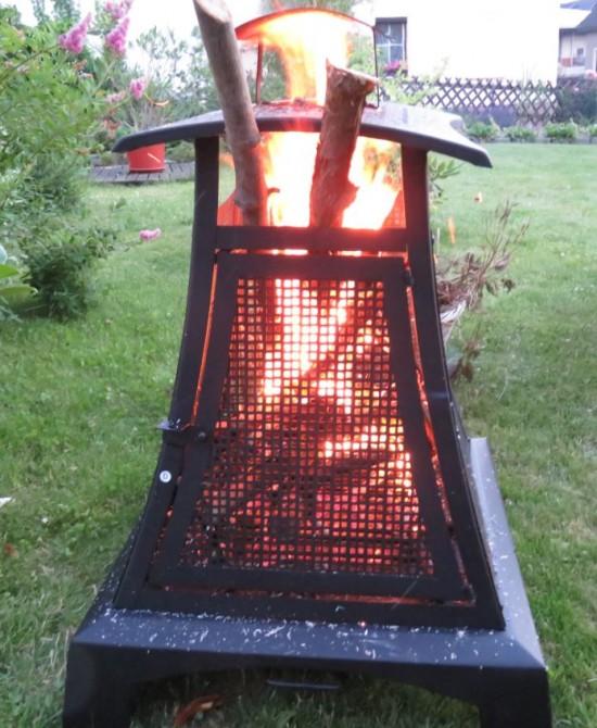 Das Aldi Terrassenfeuer im Einsatz.